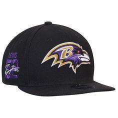 Ray Lewis Baltimore Ravens New Era Signature Side 9FIFTY Adjustable Snapback Hat - Black - $33.99