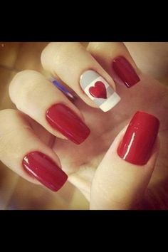 31 Lovely Valentine's Day Nail Art Ideas