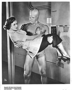 """Betty Evans and Steve Acton - """"Phantom From Space"""" - W. Lee Wilder (1953)"""