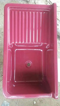 Lav 02 posas fibra de vidrio 1mt fregaderos - Fregaderos de fibra ...