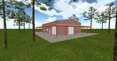 Cool 3D #marketing http://ift.tt/2oAlDLk #barn #workshop #greenhouse #garage #roofing #DIY