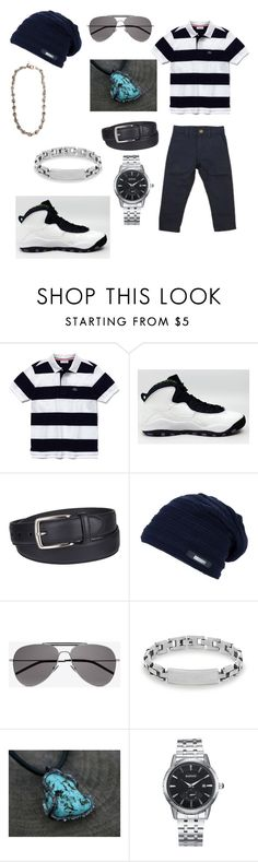 """""""Untitled #213"""" by tbh-alpha-venom ❤ liked on Polyvore featuring Lacoste, Ebbe, NIKE, Columbia, Yves Saint Laurent, Steve Madden, Maiden-Art, men's fashion and menswear"""