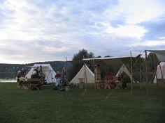 Leiri - Camp, Hämeen keskiaikamarkkinat 2014 - Häme Medieval Faire 2014, © Piela Auvinen
