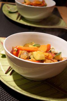 Vegetable Thai Red Curry #vegan #healthyrecipes