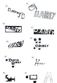 'That's The Way to Do It' David Airey sketches .3