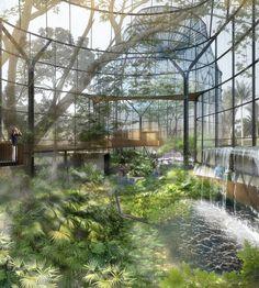 Galería de Primer Lugar en concurso público para el diseño del nuevo Tropicario del Jardín Botánico / Bogotá, Colombia - 5