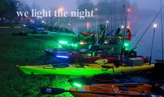 Supernova Fishing Lights and LED lighting for kayaks, powerboats, commercial, and residential marine craft and structures are designed and built to survive extreme environments. Kayak Lights, Fishing Lights, Boat Lights, Kayaks, Power Boats, Lighting Design, Night Light, Survival, Commercial