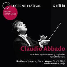 "De álbum ""Lucerne Festival Historic Performances: Claudio Abbado (Claudio Abbado Conducts Schubert, Beethoven & Wagner - Live Recordings from Lucerne Festival)"" del Wiener Philharmoniker en Napster"