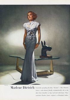 Marlene Dietrich in #CharlesJames