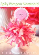 Tutorial..would be so cute for kids cheerleading birthday parties!