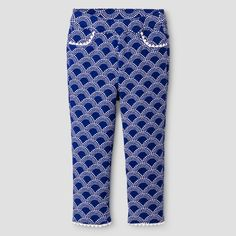 Toddler Girls' Fashion Pant Genuine Kids™ from OshKosh® - Blue Diamond : Target