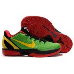 0a7c9265ce6b Cheap Zoom Kobe VI Red Green Yellow Black