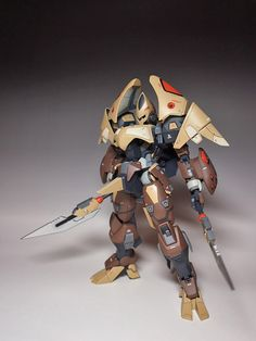 1/100 Advanced Goohn  Modeled by amenomi using parts from a 1/144 Mobile Goohn and MG Exia. At least, that's what I can make out from the t...