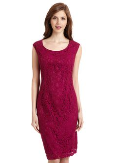 ADRIANNA PAPELL  Scoop Neck Lace Sheath Dress  $59.99