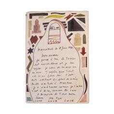 Letter from Yves Saint Laurent
