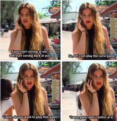 Khloe Kardashian is savage