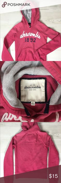 Abercrombie and Fitch Women's Hoodie Abercrombie and Fitch women's hoodie. In perfect condition, lightly used! Abercrombie & Fitch Tops Sweatshirts & Hoodies