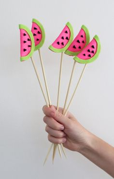 Watermelon toppers