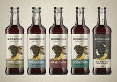 Moonchild Brewing Co. Craft Beer on Packaging of the World - Creative Package Design Gallery