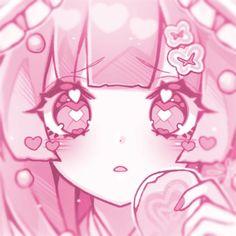 Kawaii Art, Kawaii Anime, Chica Anime Manga, Anime Art, Cute Images, Cute Pictures, Anime Girl Pink, Aesthetic Anime, Pink Aesthetic