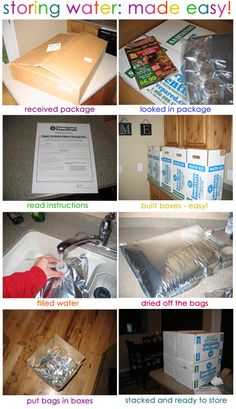 Inexpensive Water Storage!