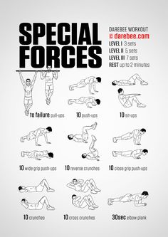 10 Great Bodyweight Workouts - Strength - You Can Do Great Workouts At Home Without Equipment. Here are 10 great places - # Removal workout for home training fitness diet Fitness Workouts, Gym Workout Tips, Ab Workout At Home, Workout Challenge, At Home Workouts, Army Workout, Spartan Workout, Military Workout Plan, Marine Workout