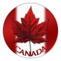 Shop Canada Souvenir Stickers Red Maple Leaf Stickers created by artist_kim_hunter. Maple Leaf Tattoos, Canadian Tattoo, Canadian Gifts, Kim Hunter, Canadian Maple Leaf, Happy Canada Day, Leaf Art, Canadian Artists, Online Gifts