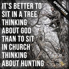 Sometimes you can learn a lot from being 20 feet up. #Treestand #Hunting
