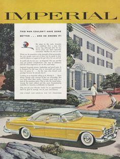 1955 Chrysler Imperial.