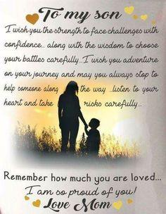 Happy 17th Birthday Thomas I Love You Family Son Quotes My