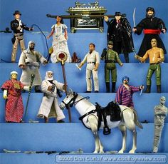 COOL TOY REVIEW: Flashback Friday Kenner Indiana Jones Action Figures