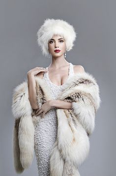 carmen valdivieso: fur: wrapped in style - STYLE? Cruel, agonizing, unbelievable suffering and horror more like!