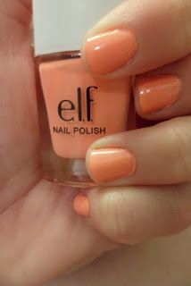 love this color. Elf Nail Polish, Coral Nail Polish, Coral Nails, Spring Nails, Summer Nails, Keep It Classy, Brand Me, Pretty Birds, You Nailed It