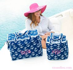 Viv  Lou Cooler Bags and Totes: http://www.vivandlou.com/monogrammed-bags/summer-bags/cooler-bags.html  **Always FREE Personalization**