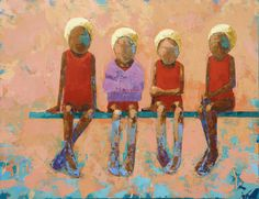 One of artist Rebecca Kincaid's paintings. Charming