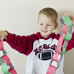 Countdown to Christmas with a scripture chain!