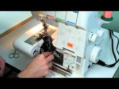 Husqvarna Viking HClass 200S Serger - YouTube