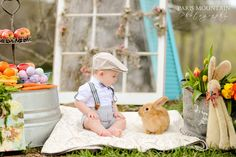 Easter Bunny Mini Session | Easter pictures | Atlanta Portrait Photographer