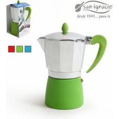 Aluminio Cafetera expr/és para cocinas Asa y tirador color marr/ón GAT Caf/é Caffe 9 tazas