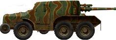 Laffly W15TCC armoured prototype version (1940)