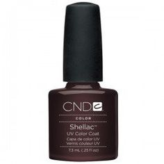 Creative Nail Shellac Fedora, 0.25 Fluid Ounce by CND Cosmetics. $12.70. Wears like gel. 14 day wear. Off in minutes. On like polish. Patent-pending formulations of solvents, monomers and polymers goes on like polish and wears like gel. A UV-cured color coat featuring UV3 technology.