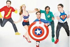 Big Bang Theory - Who doesn't love a little awkward nerd-ery?