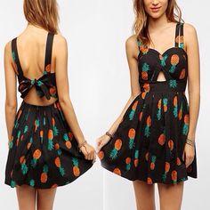 Pineapple dress :)