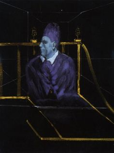 Francis Bacon (Irish-British: 1909 –1992) was an Irish-born British figurative painter known for his bold, graphic and emotionally raw imagery.