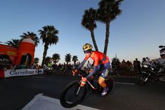 MALAGA, SPAIN - AUGUST 25: Vincenzo Nibali of Italy and Bahrain Merida Pro Cycling Team /  during the 73rd Tour of Spain 2018, Stage 1 a 8km Individual Time Trial from Malaga to Malaga / La Vuelta / on August 25, 2018 in Malaga, Spain. (Photo by Michael Steele/Getty Images)