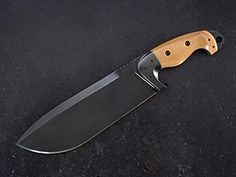 Custom fixed blade chopper knife 232