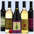 customized wine bottle labels. great for any occasion/holiday.