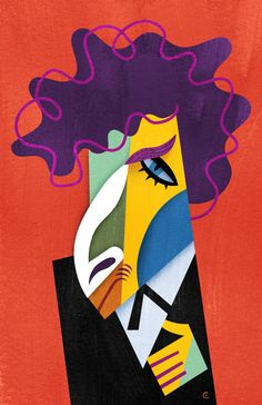 Bob Dylan , by David Cowles