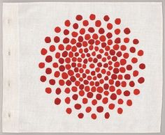 """vjeranski: """" Louise Bourgeois Ode a L'oubli, 2004 Fabric and colour lithograph…"""