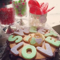 Galletas Sweet love